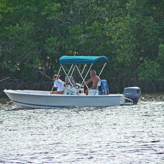 Boating and fishing are popular activities in St. Marks.