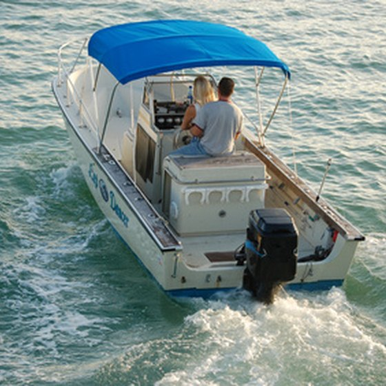 Boating is one of the many popular activities in St. Joe.