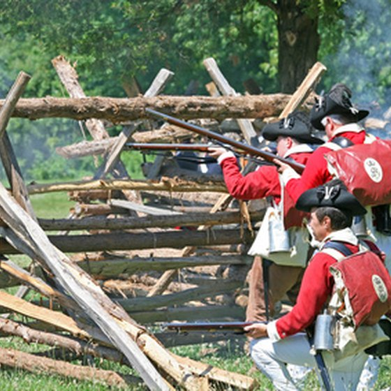 Reenacting the Battle of Monmouth