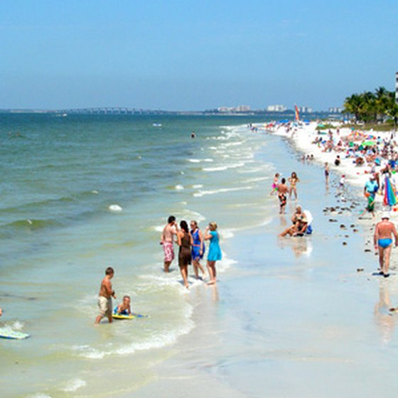 Fort Myers' beaches are a popular place to cool off during the area's long, hot summers.