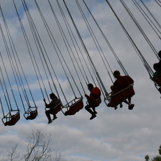 A ride at a Branson, Missouri, theme park