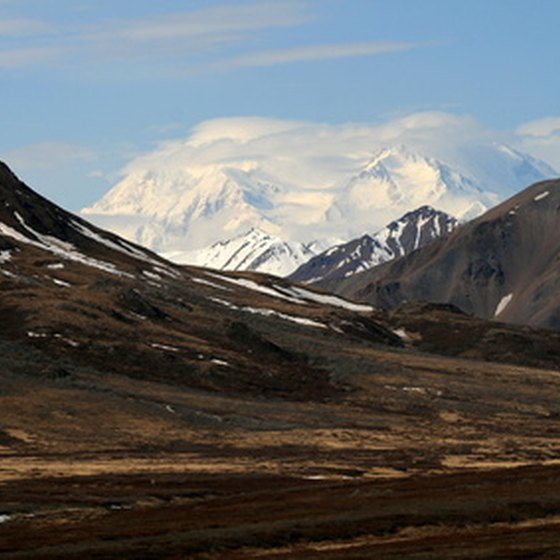 Mt. McKinley in Denali National Park
