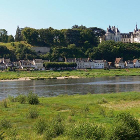 The Loire Valley is a popular spot on cycling tours of France.