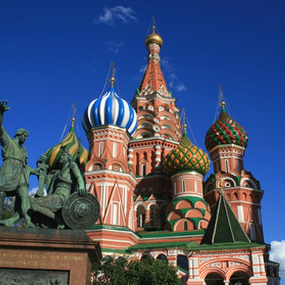 St. Basil's Cathedral in Red Square.