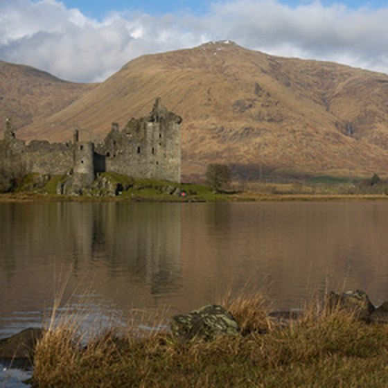 Castles, lochs and mountains are major fixtures of Scottish walking vacations.