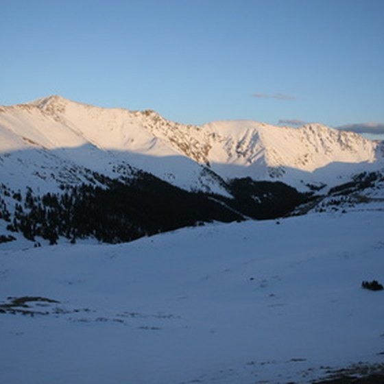 Rocky Mountain National Park is subject to early snowfall.