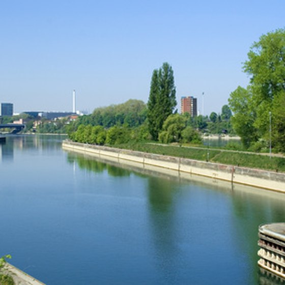 Basel sits at the point where France, Germany and Switzerland meet.
