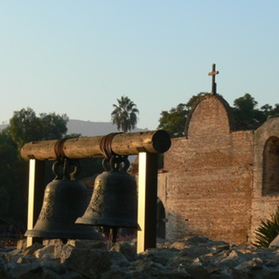 The San Juan Capistrano Mission was founded in 1776.