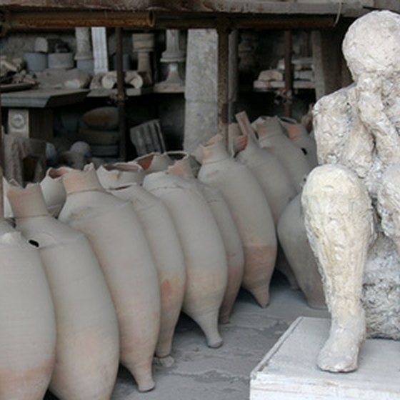 Pompeii is one of the world's leading archaeological attractions.
