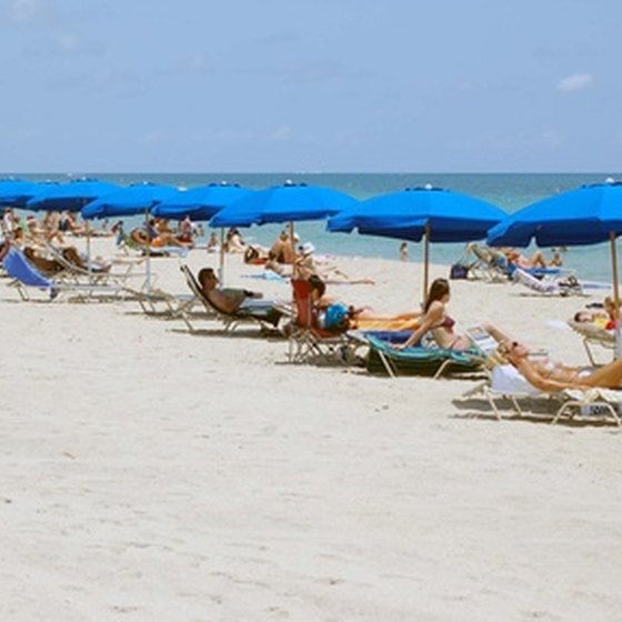 Port Everglades is located just minutes away from the beach in Fort Lauderdale.