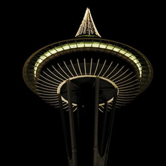 The Space Needle was built for the 1962 World's Fair.