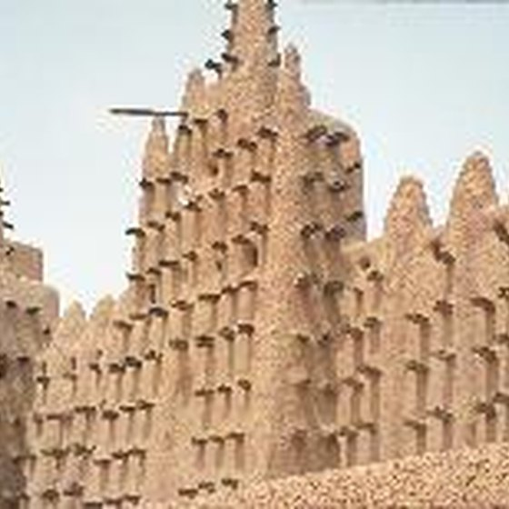 You can see the Great Mosque of the Djenne in Mali on some guided tours.