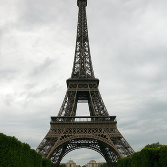All over the world, the Eiffel Tower symbolizes Paris.