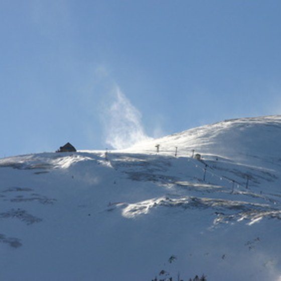 The billowing snow of Breckenridge awaits.