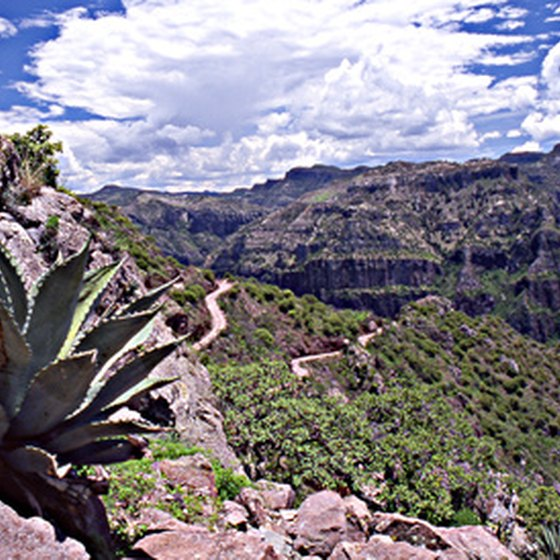 Copper Canyon is nestled in the Sierra Madre Range.