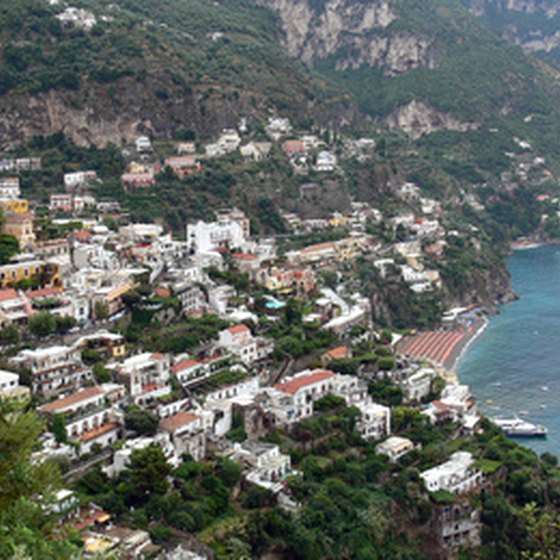 Positano is a picturesque town on the Amalfi Coast.