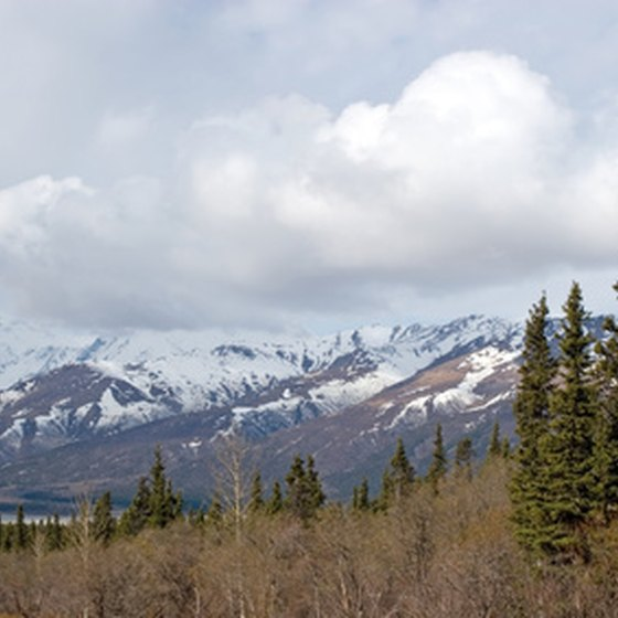 Alaska's vast wilderness offers ample opportunities for hiking and camping.