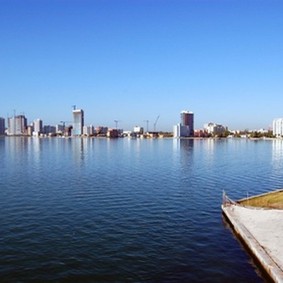 Biscayne National Park is within sight of downtown Miami.