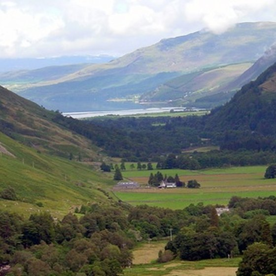 Inverness is nestled in the Highlands of Scotland, with breathtaking countryside all around.