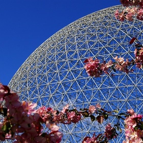 The Biosphere is an environmental observation center.
