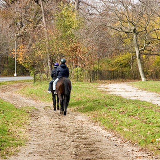 Trail rides are only one of the riding formats available in Lexington.
