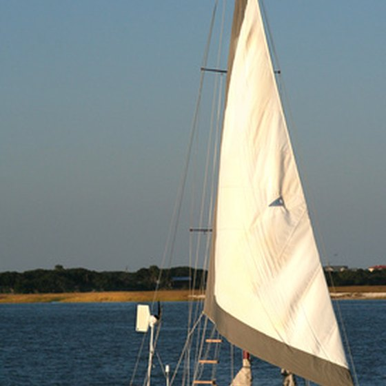St. Augustine has sailing tours through the Intercoastal and the Atlantic Ocean.