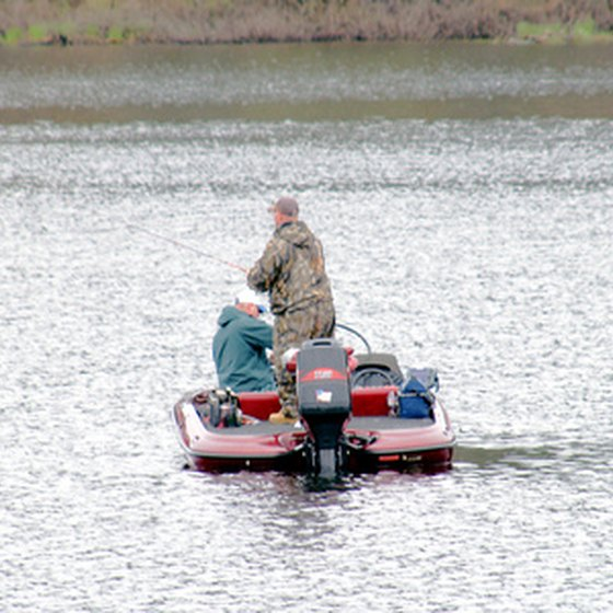 Trout fishing is popular in the area.