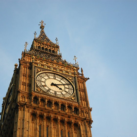 Big Ben in London's Parliament