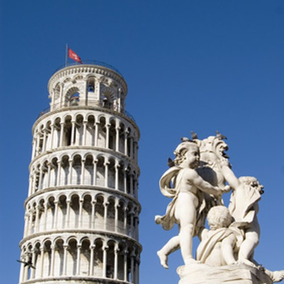The Leaning Tower of Pisa is arguably Tuscany's most famous monument.