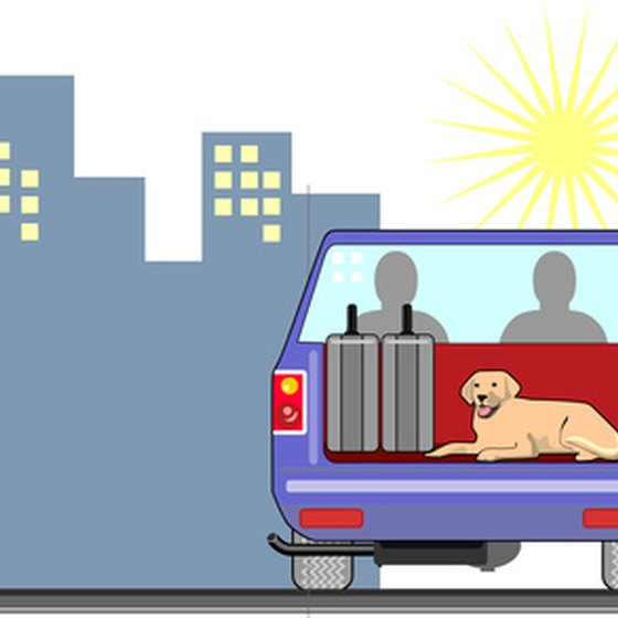 Planning ahead for pet friendly accommodations can make any trip less stressful.