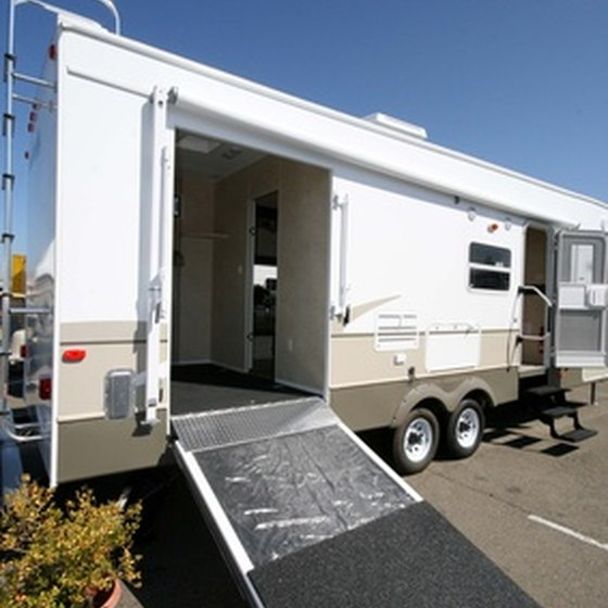 There are a variety of RV parks in the areas around Sanderson.