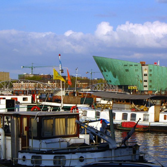 The Netherlands' port city of Amsterdam is one of many embarkation ports for western European cruises