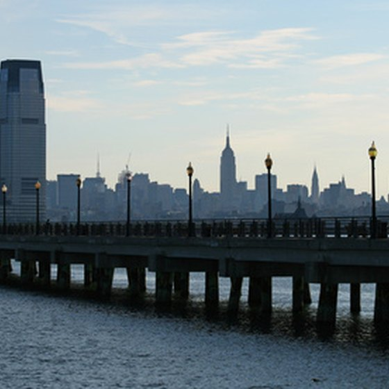View of the New Jersey/New York skyline