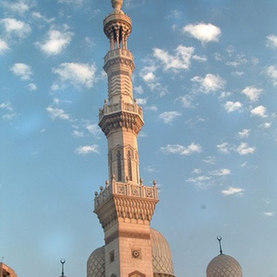 One of the thousands of minarets that make up the skyline of Cairo