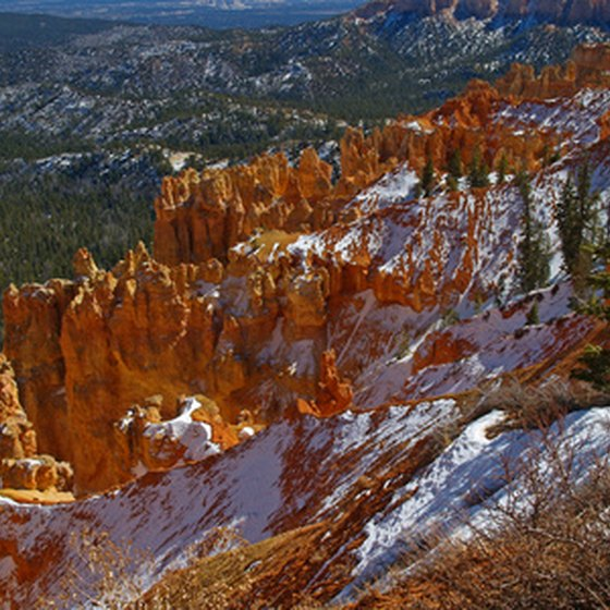 Winter is a beautiful time in Utah's national parks.