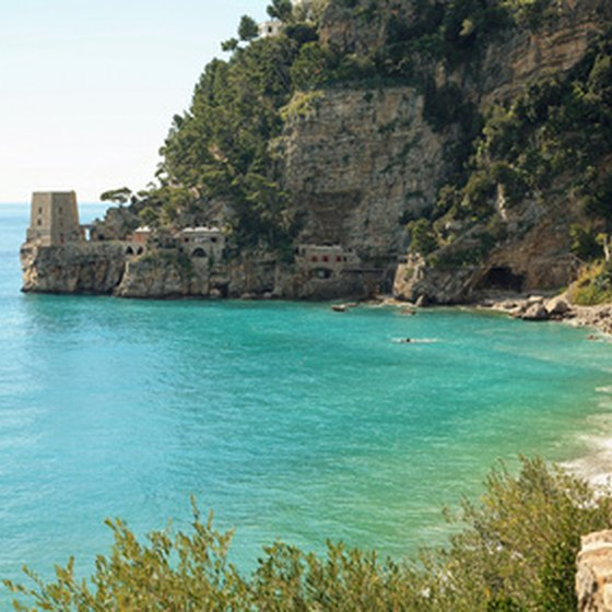 Enjoy a camping vacation on the picturesque Amalfi Coast.