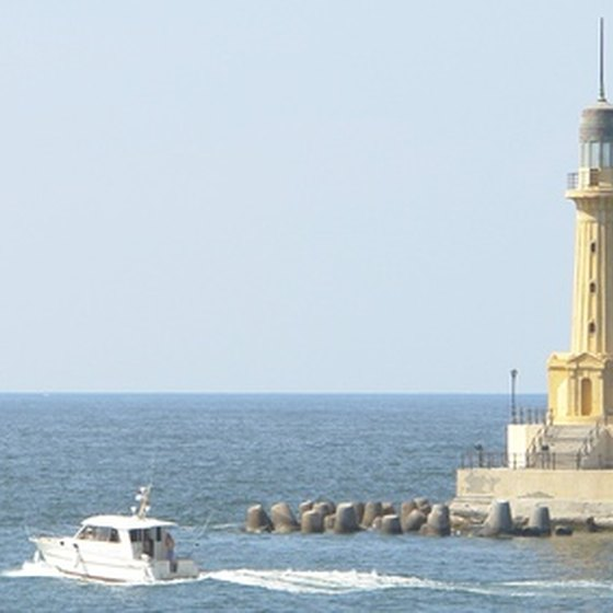 Cheboygan is home to seven lighthouses and lighthouse ruins.