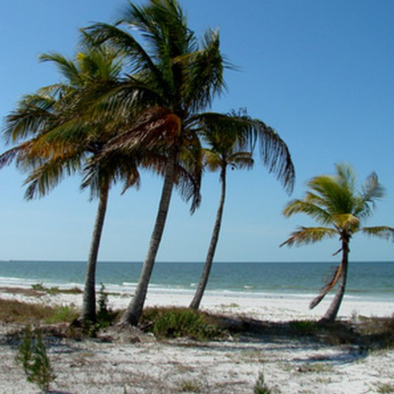Distance From West Palm Beach To Captiva Island