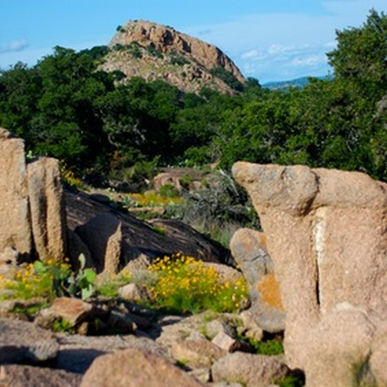 Enchanted Rock is one of the sites to see near Burnet, Texas.