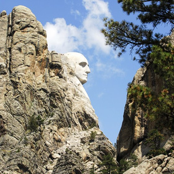 Keystone is about one mile from Mount Rushmore.