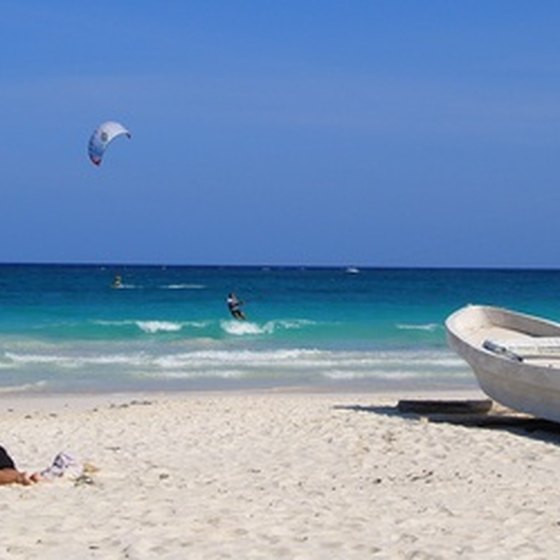 The Yucatan Peninsula is home to some of Mexico's best beaches.