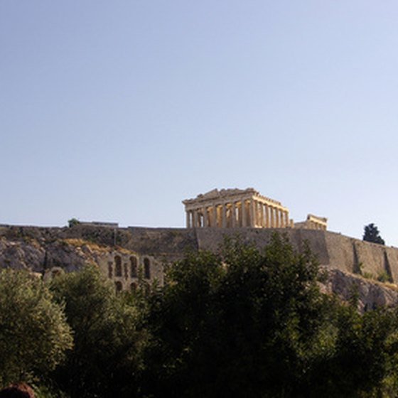 The Acropolis of Athens is one of Europe's most famous sights