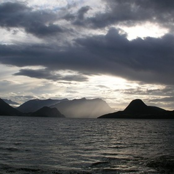 The waters of Norway provide much of the fish used in local dishes.