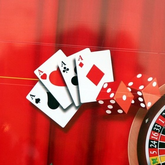 Craps, roulette and poker are among the games offered in Biloxi casinos.