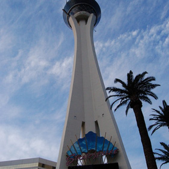 The Stratosphere Tower Hotel and Casino.