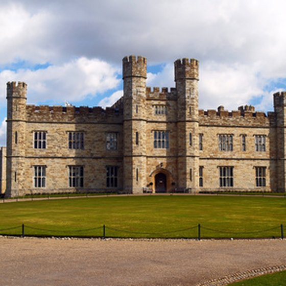 Leeds Castle is a destination on a historical tour of castles in England.