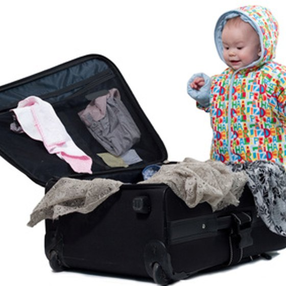 Don't let the baby do the packing.