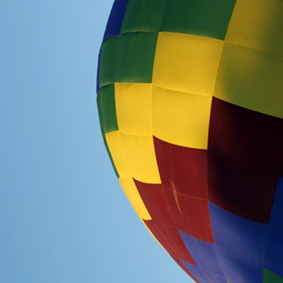 Take a ride on a hot air balloon in Middletown, New York