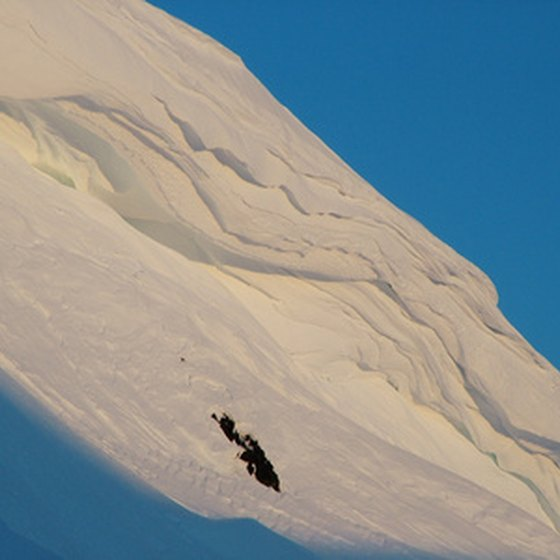 Alaska's steep slopes draw the most adventurous skiers.
