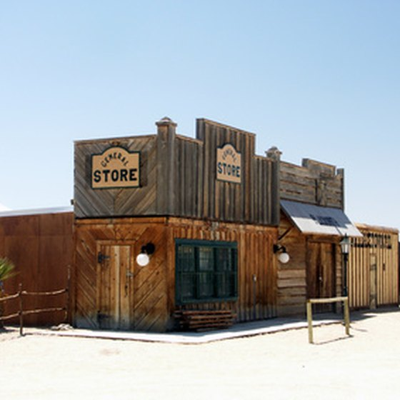 West Texas has remnants of the Western era.